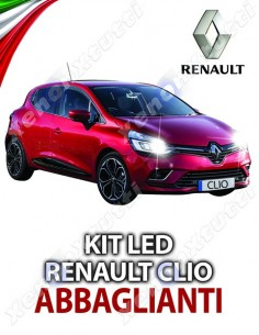 KIT FULL LED ABBAGLIANTE RENAULT CLIO SPECIFICO