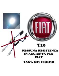 Coppia Led T10 SPECIFICA FIAT 100% NO ERROR