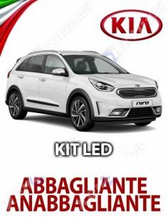 KIT FULL LED HB3 KIA NIRO ANABBAGLIANTE ABBAGLIANTE
