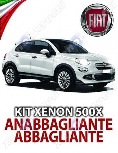 Lampade Xenon Anabbaglianti e Abbaglianti H4 per FIAT 500X con tecnologia CANBUS