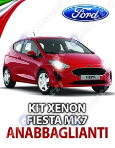 KIT XENON ANABBAGLIANTI FORD FIESTA MK7 SPECIFICO