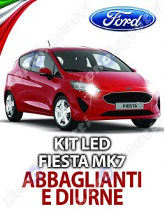 KIT FULL LED ABBAGLIANTI E DIURNE FORD FIESTA MK7 SPECIFICO