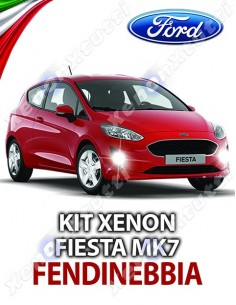 KIT XENON FENDINEBBIA FORD FIESTA MK7 SPECIFICO