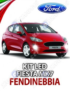 KIT LED FENDINEBBIA FORD FIESTA MK7 SPECIFICO