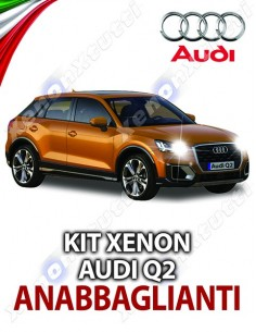 KIT XENON ANABBAGLIANTI AUDI Q2 SPECIFICO