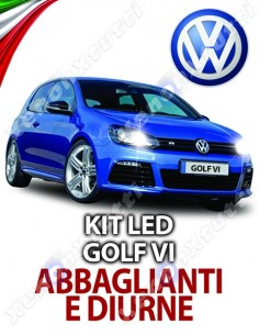 KIT FULL LED ABBAGLIANTI E DIURNE GOLF 6 SPECIFICO