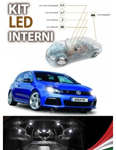KIT FULL LED INTERNI GOLF VI 6 SPECIFICO