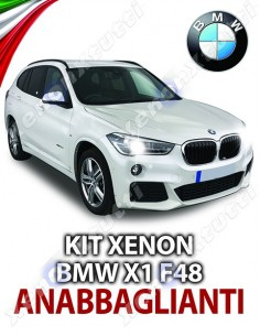 KIT XENON ANABBAGLIANTI BMW X1 F48 SPECIFICO