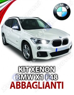 KIT XENON ABBAGLIANTI BMW X1 F48 SPECIFICO