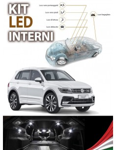 KIT FULL LED INTERNI VOLKSWAGEN TIGUAN MK2 SPECIFICO