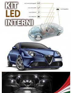 KIT LED INTERNI PLAFONIERA ALFA ROMEO MITO