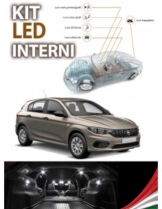 KIT LED INTERNI FIAT TIPO SPECIFICO
