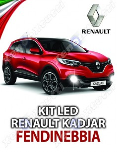KIT FULL LED FENDINEBBIA RENAULT KADJAR SPECIFICO