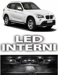 KIT FULL LED INTERNI BMW X1 E84 SPECIFICO