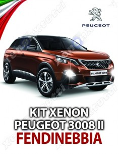 KIT XENON FENDINEBBIA PEUGEOT 3008 II SPECIFICO