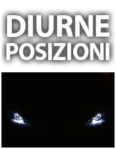 LAMPADE LED POSIZIONI volkswagen GOLF 7 CANBUS