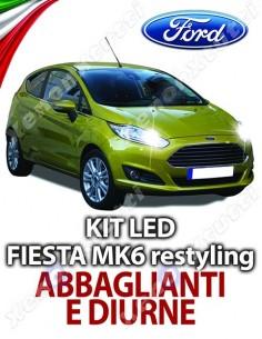 KIT FULL LED ABBAGLIANTI E DIURNE FORD FIESTA MK6 RESTYLING SPECIFICO