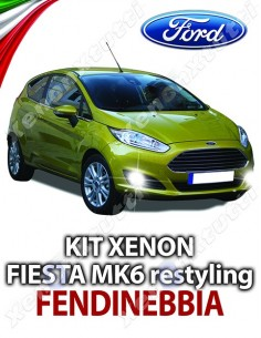KIT XENON FENDINEBBIA FORD FIESTA MK6 RESTYLING SPECIFICO