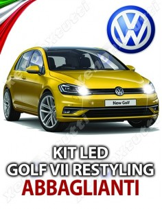 KIT LED ABBAGLIANTI GOLF 7 VII RESTYLING SPECIFICO