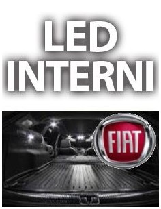 KIT LED INTERNI FIAT NUOVA PANDA COMPLETO
