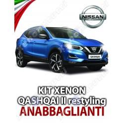 KIT XENON ANABBAGLIANTI NISSAN QASHQAI II RESTYLING SPECIFICO