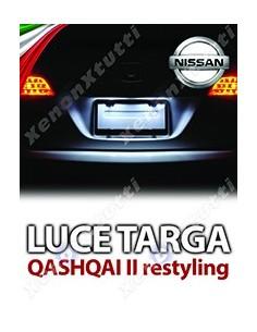 PLAFONIERA LUCE TARGA LED NISSAN QASHQAI II RESTYLING