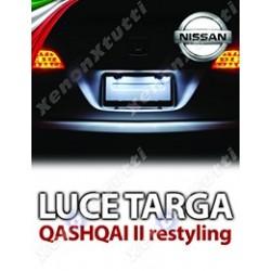 Plafoniera Targa Led Nissan Qashqai II Restyling  J11 Specifica