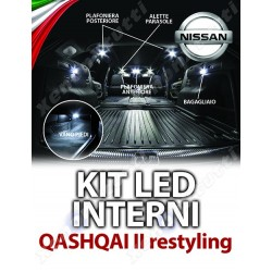 KIT LED INTERNI QASHQAI II RESTYLING SPECIFICO