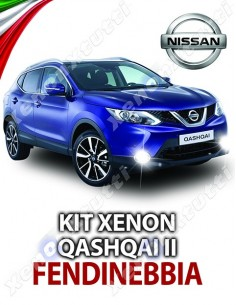 KIT XENON FENDINEBBIA NISSAN QASHQAI II SPECIFICO