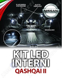 KIT LED INTERNI QASHQAI II SPECIFICO