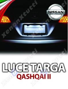 PLAFONIERA LUCE TARGA LED NISSAN QASHQAI II
