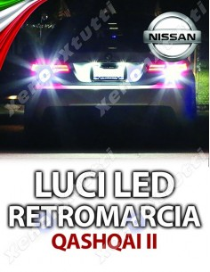 LED RETROMARCIA NISSAN QASHQAI II SPECIFICHE