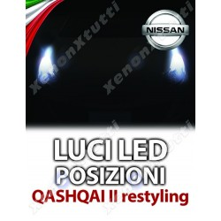 LUCI LED POSIZIONI NISSAN QASHQAI II RESTYLING SPECIFICHE