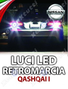 LUCI LED RETROMARCIA NISSAN QASHQAI I SPECIFICHE
