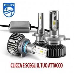KIT FULL LED 6000K 8000 lumen ECO PHILIPS h7 h3 h11 h8 h9 hb3 hb4 hir2 h4 h13 psx24w p13