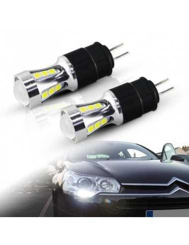 COPPIA HP24W LED CITROEN BMW PEUGEOT BIANCO