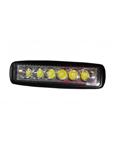 LED WORKING LIGHT 27W 9/32V PROFONDITA O DIFFUSO