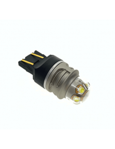 LED T20 7443 21W/5W CANBUS BIANCO 5 SMD 3030