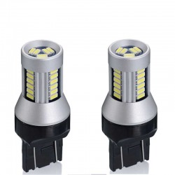LED T20 7443 7440 W21/5W W3x16q 30 smd 4014 posizione diurna doppia funzione