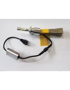 KIT FULL LED 16000LM H7 SLUX DISSIPATORE STATICO FLESSIBILE