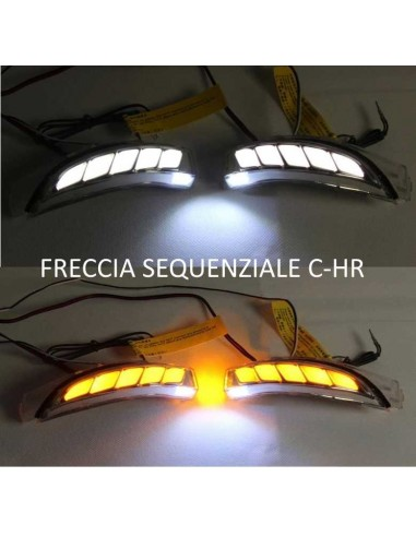 Led Sequenziale Freccia Specchietto...