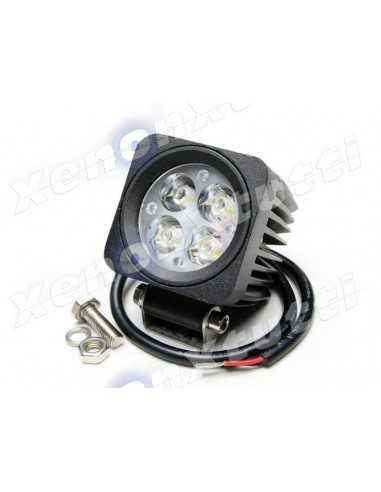 LED WORKING LIGHT 12W 9/32V PROFONDITA moto