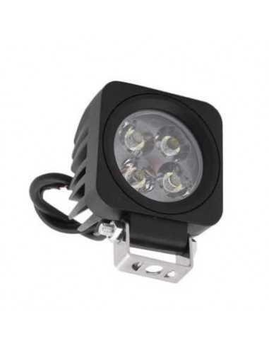 faro aggiuntivo moto led 12w quadrato spot profondità led working light