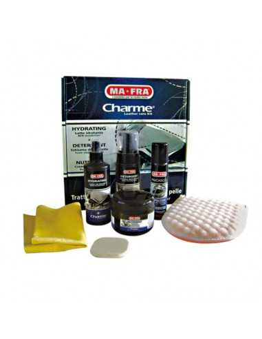 Trattamento pelle Charme leather care kit