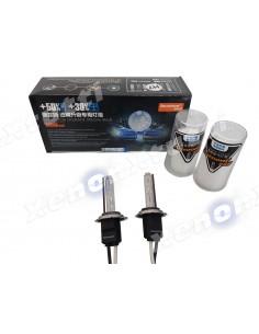 AOZOOM COPPIA LAMPADA XENON METAL 5500k/6000k h7 h1 h11 h8 h9 hb3 hb4 h27 D2H