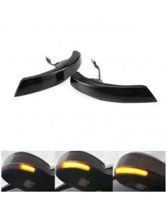 FRECCIA SEQUENZIALE DINAMICA LED SPECCHIETTI FORD FOCUS MK2 MK3 E MONDEO MK4 mirror light