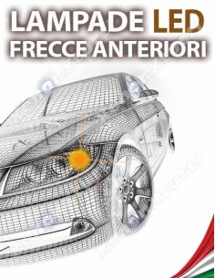 LAMPADE LED FRECCIA ANTERIORE per FIAT Qubo specifico serie TOP CANBUS
