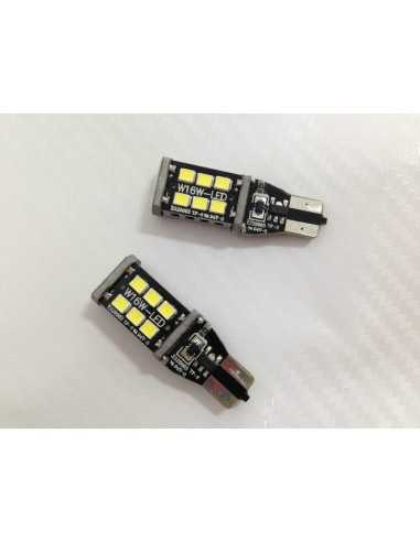 2 LED T10 CANBUS T10 W5W 800 lumens 6W ODB Canbus - nera