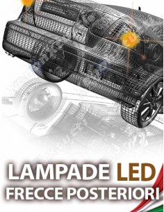 LAMPADE LED FRECCIA POSTERIORE per PEUGEOT 107 specifico serie TOP CANBUS