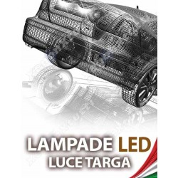 LAMPADE LED LUCI TARGA per SMART Fortwo specifico serie TOP CANBUS
